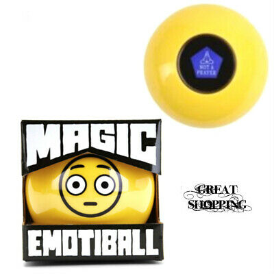 NEW MAGIC EMOTIBALL EMOJI FORTUNE TELLING -
