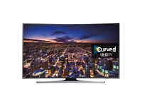 "SAMSUNG UE48JU6500 48"" CURVED Smart UHD 4K LED TV FreeviewHD 1200Hz"
