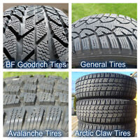 Used 16 inch Winter Tires - 205/60, 215/60, 225/50, 235/70