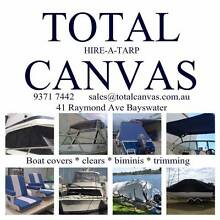 BOAT COVERS, BOAT CLEARS, BIMINIS & TRIMMING SPECIALISTS Perth Region Preview