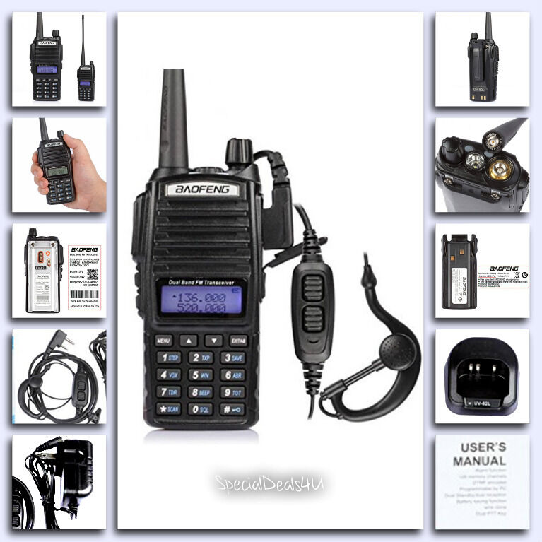 Portable Handheld Transceiver Scanner Radio Police Fire D...