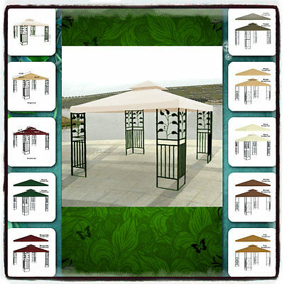 Gazebo Pergola Replacement Patio Gazebos Canopy Outdoor ...