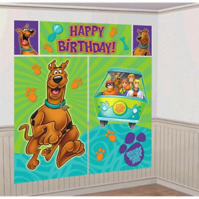 SCOOBY-DOO WHERE ARE YOU? WALL POSTER DECORATION 5pc ~ Birthday Party - Scooby Doo Birthday Supplies