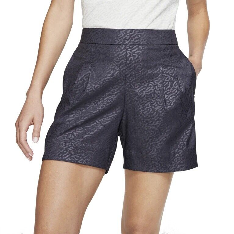 Nike Golf UV Dri-Fit Gridiron Women's Golf Shorts Size Large AV3931-015 NWT