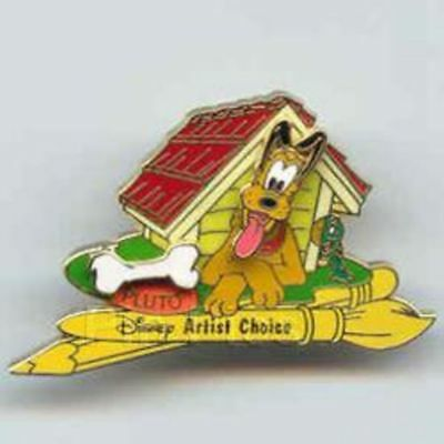 WDW - Mickey's Toontown of Pin Trading Event (Pluto) Artist Choice