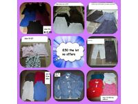 ladies size 14 summer and winter bundle of clothes prices on pictures or £50 the lot