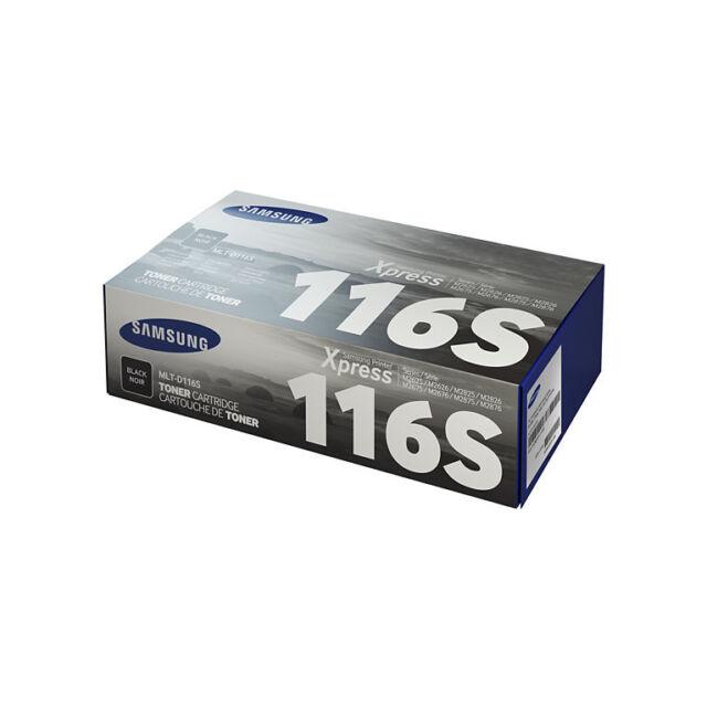 1 x Samsung Black Original OEM Toner Cartridge For MLT-D116S - Next Day Delivery
