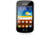 Samsung Galaxy Mini S2 - Black and Yellow - GT-S6500