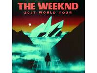 The weeknd concert. Newcastle. 3 tickets
