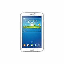 """Clearance Ex-display model Samsung Galaxy Tab 3 Wi-Fi 8 GB White 7"""" Was: £199.99"""