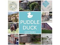 Puddle Duck Cottages, luxury self-catering cottages in the heart of the Ironbridge Gorge, Shropshire