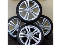 Audi S3 alloys 2015 8v ( Continental Tyres) Dnt miss