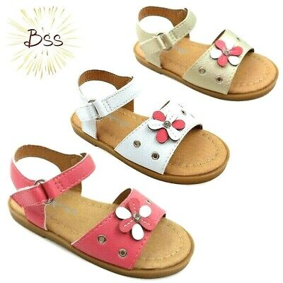 Infant Toddler Girls Flower Sandals Size 4-8 clearance - Infant Clothing Clearance