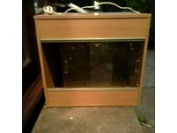 2ft VIVEXOTIC REPTILE TANK WITH LIGHT FITTING - SNAKES - LIZARDS