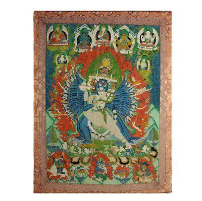 Antique Tibetan Buddhist Thangka