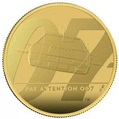 James Bond 007 SERIES II £25 Gold Proof 1/4 Oz Coin Royal Mint