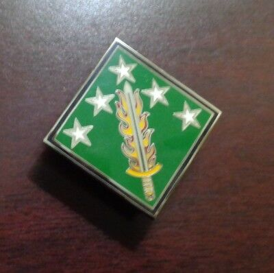 Combat Service Id Badge  20Th Support Command  Cbrn  For Asus And Dress Blues