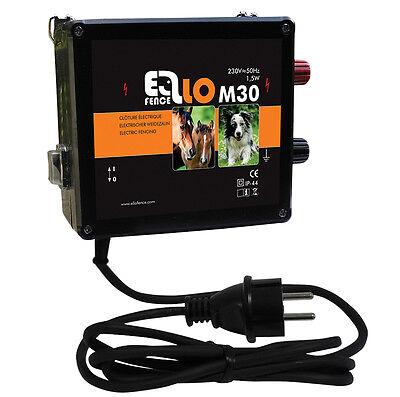 Weidezaungerät Ellofence M30 230V Elektrozaun Zaun elektrisch Pferde SONDERPREIS