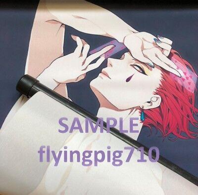 Hot Japan Anime One Piece Luffy Zoro Sanji Wall Scroll Home Decor 21*30CM 011