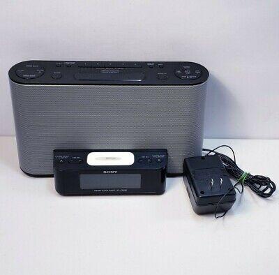 Sony Dream Machine ICF-CS10iP FM/AM Alarm Clock Radio iPhone iPod Dock