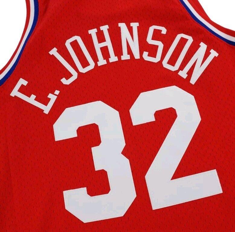 e64b72e4823 Magic Johnson Mitchell   Ness 1991 NBA All Star West Retro Swingman Jersey  Men s