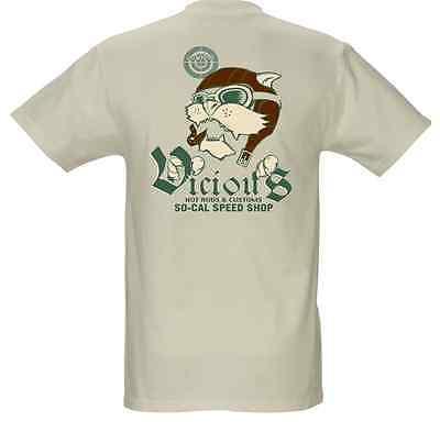 SO-CAL Speed Shop Vicious Aviator T-Shirt - Vicious Aviator