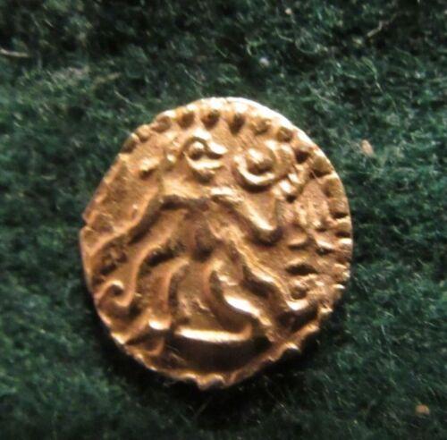 RARE 980-1070 CEYLON 1/4 KAHAVANU AV PALA GOLD COIN 1.05 GRAM 14 MM PROVENANCE!