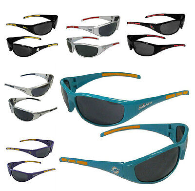 NFL Football 3-Dot Sports Wrap-Sunglasses - Pick Team