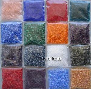 Lot of 11/0 Round Toho Japanese Glass Seed Beads 240g -Mix