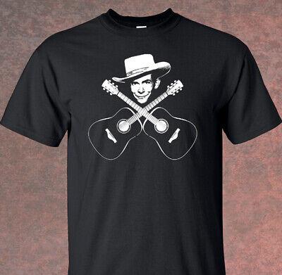 Hank Williams Sr. Guitar  Adult T shirt, Country music -