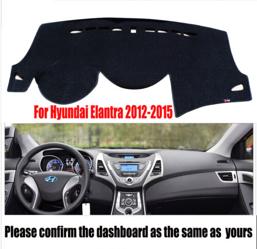 For Hyundai Elantra 2012-2015 DashMat Dashboard Cover Dash ...