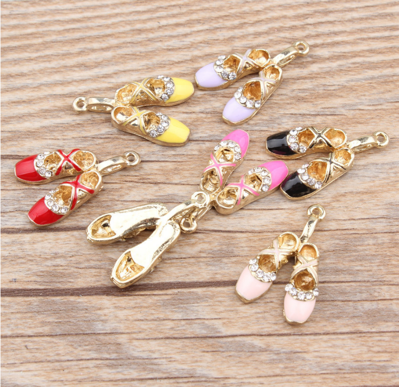 7x shoes Pendant  Necklace earing diy Fashion Jewelry
