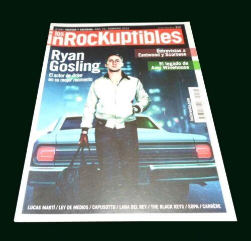 AMY WINEHOUSE - LANA DEL REY - Inrockuptibles Argentina Mag # 166 February 2012