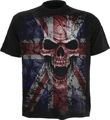 Spiral Direct Union Zorn T-Shirt, Reaper/Vampir/Geflügelter Totenschädel / Jack