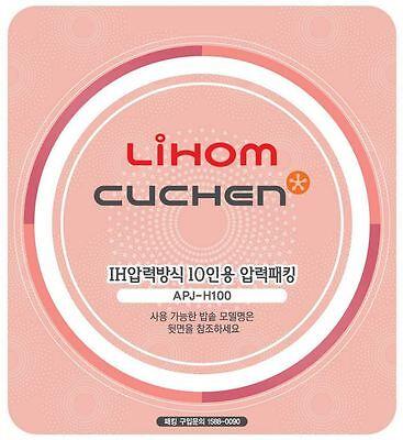 Cuchen Lihom Pressure Cooker APJ-H100 Replacement Packing Sealing Gasket 10 Cups