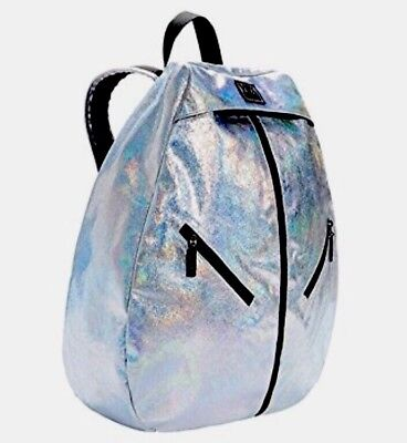 Victoria's Secret Sport VSX Fashion Show 2015 Bling Holographic Gym Backpack NWT