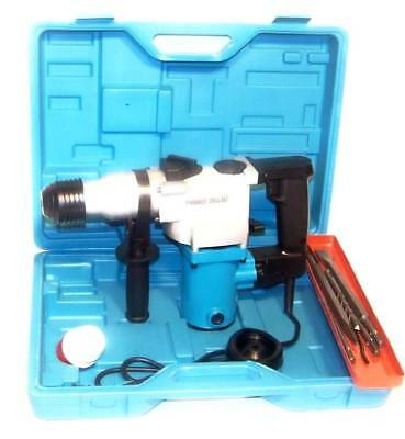 """1"""" Electric Rotary Hammer Drill with SDS plus drill bits pun"""