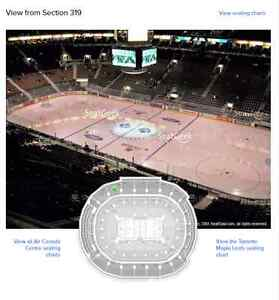 Leafs tickets available