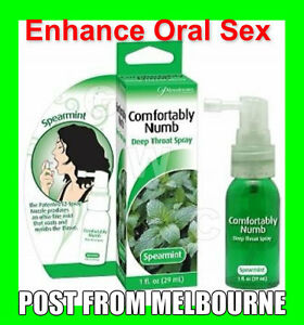Sex-Comfortably-Numb-Deep-Throat-Spray-spearmint-Toy-oral-desensitise-arousal