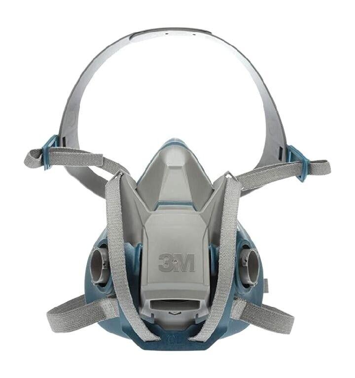 3M 6502QL Half Face Respirator w/Quick Latch - Medium - USA