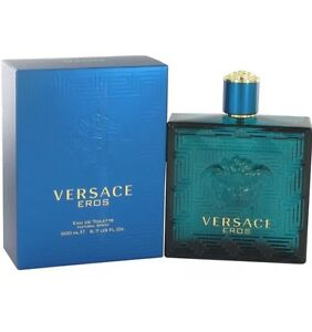 Versace Eros Homme Men 6.7 OZ 200 ML Eau De Toilette Spray NEW SEALED