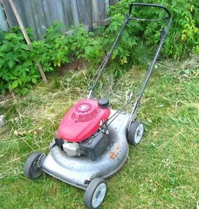 "ASIS (doesn't start ) FOR PARTS 5 HP 21"" HONDA Gas Lawnmower"