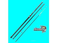 OKUMA G FORCE 15ft. BEACHCASTER SEA FISHING ROD - 3 piece BRAND NEW