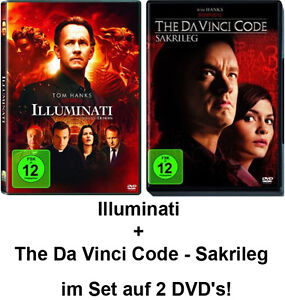 2 DVDs * THE DA VINCI CODE – SAKRILEG + ILLUMINATI IM SET # NEU OVP
