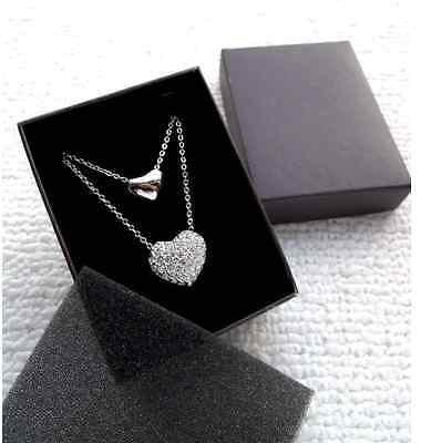 - Present Gift Burgundy Color Necklace/Earring/Ring Paper Jewelry Box Wholesale