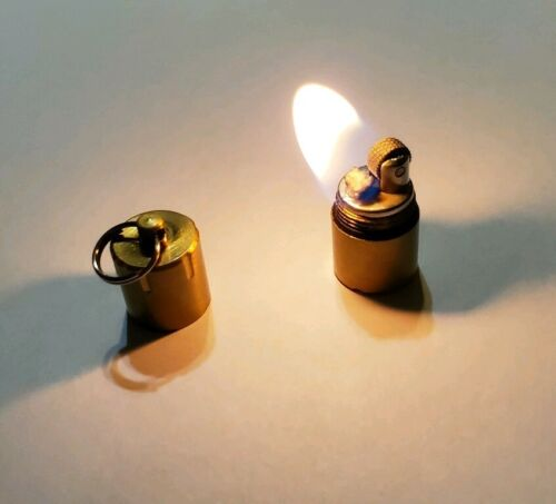 MartianTac Brass Mini Split Pea Lighter USA