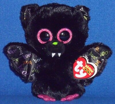 """TY BEANIE BOOS - DART the 6"""" BAT - MINT with MINT TAGS"""