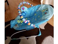 *sold* Bright Starts Baby Bouncer - vibrating and musical