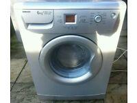 BEKO WM6167S 6KG 1600 SPIN A+AA CLASS WASHING MACHINE