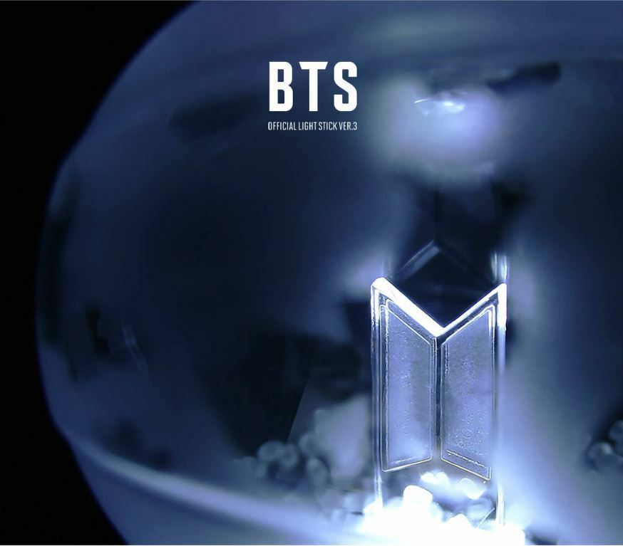BTS - OFFICIAL LIGHT STICK ARMY BOMB VER 3 + 7 PRE-ORDER PHOTOS + TRACKING, NEW